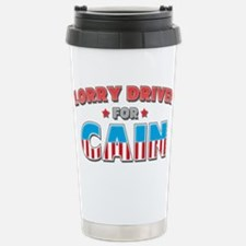 Lorry Driver for Cain Travel Mug