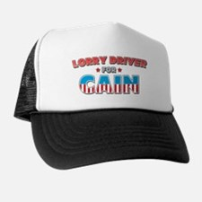 Lorry Driver for Cain Trucker Hat