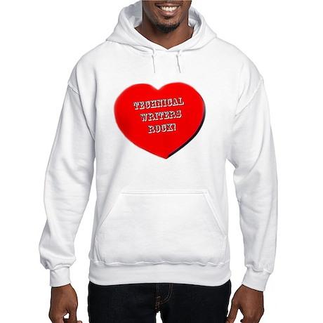 Technical Writers Rock! Hooded Sweatshirt