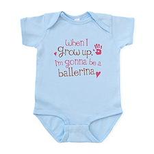 Kids Future Ballerina Infant Bodysuit