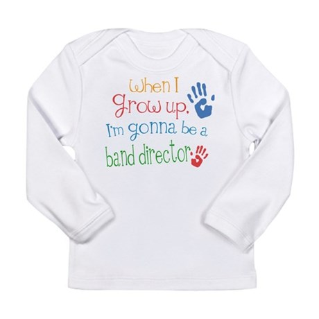 Kids Future Band Director Long Sleeve Infant T-Shi