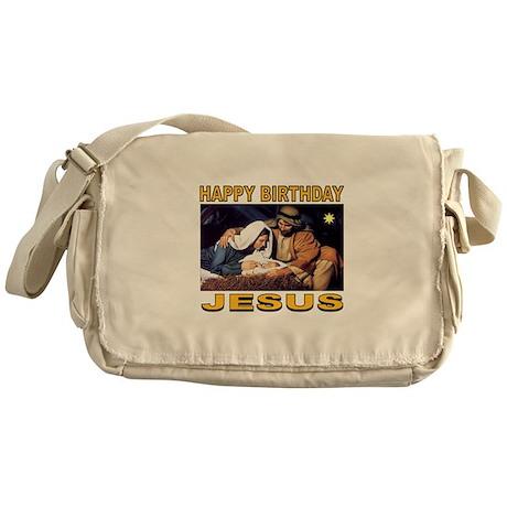 HONOR CHRISTMAS Messenger Bag