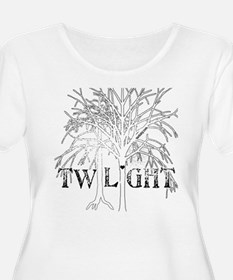 Twilight White Snow by Twibaby T-Shirt
