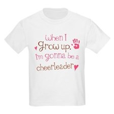 Kids Future Cheerleader T-Shirt