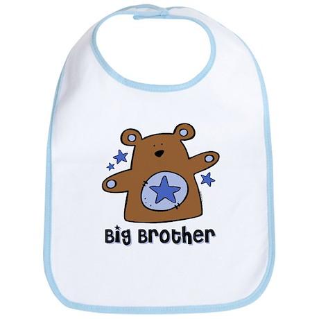 Teddy Bear Big Brother Bib