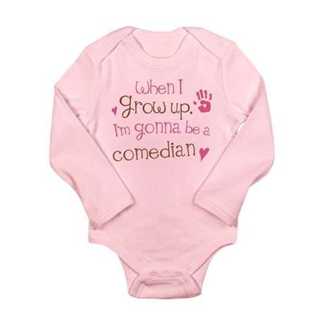 Kids Future Comedian Long Sleeve Infant Bodysuit