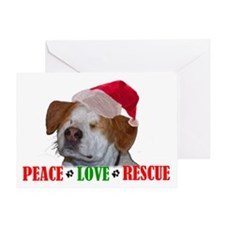 Special needs dog Greeting Card