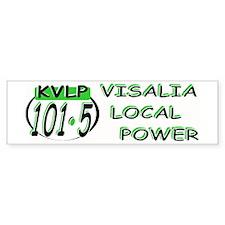 KVLP 101.5 VISALIA Bumper Bumper Sticker