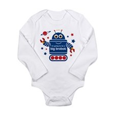 Robot Future Big Brother Long Sleeve Infant Bodysu