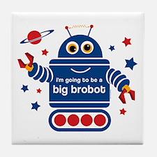 Robot Future Big Brother Tile Coaster