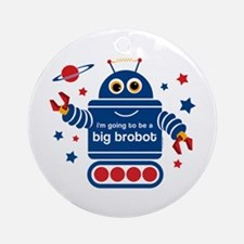 Robot Future Big Brother Ornament (Round)