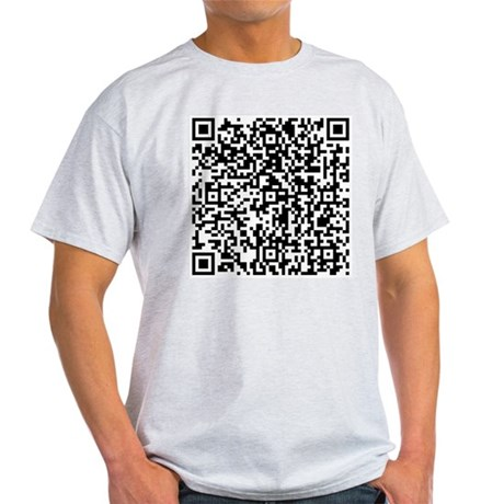 QR Code Light T-Shirt