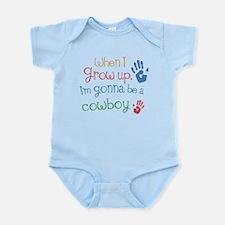 Kids Future Cowboy Infant Bodysuit