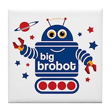 Robot Big Brother Tile Coaster