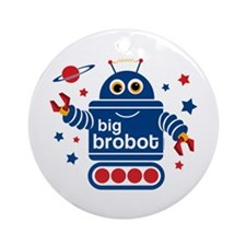 Robot Big Brother Ornament (Round)