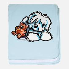 Coton Teddy baby blanket