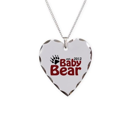 Baby Bear Claw 2012 Necklace Heart Charm