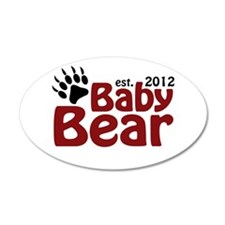 Baby Bear Claw 2012 Wall Decal