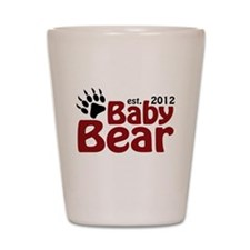 Baby Bear Claw 2012 Shot Glass
