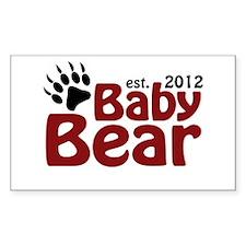 Baby Bear Claw 2012 Decal