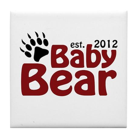 Baby Bear Claw 2012 Tile Coaster