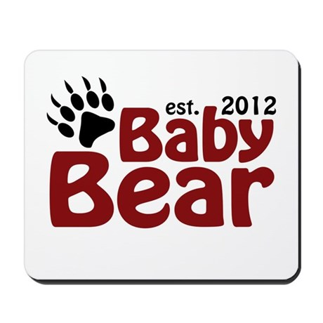 Baby Bear Claw 2012 Mousepad