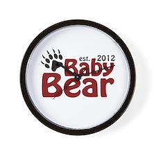 Baby Bear Claw 2012 Wall Clock
