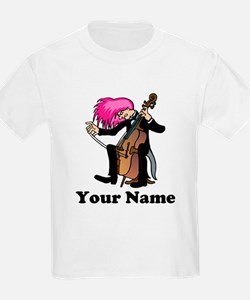 Funny Cellist Personalized T-Shirt