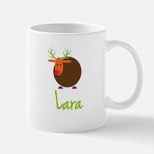 Lara the Reindeer Small Mugs