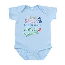 Kids Future Dental Hygienist Infant Bodysuit
