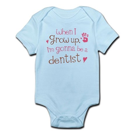 Kids Future Dentist Infant Bodysuit