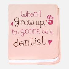 Kids Future Dentist baby blanket