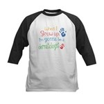 Kids Future Dermatologist Kids Baseball Jersey