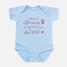 Kids Future Dietician Infant Bodysuit