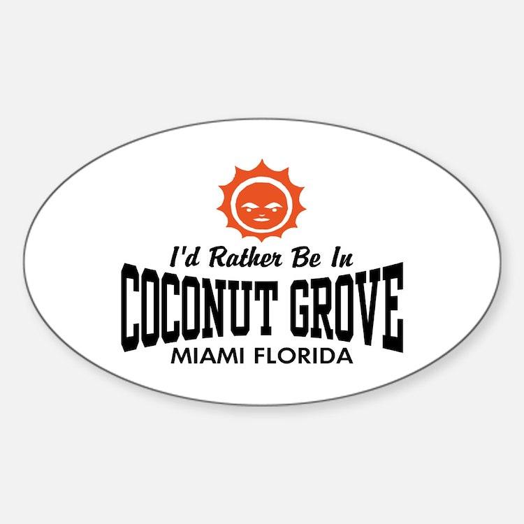 Coconut Grove Fl Decal