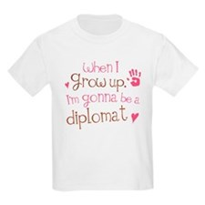 Kids Future Diplomat T-Shirt