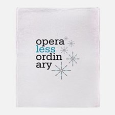 Chicago Opera Theater Throw Blanket