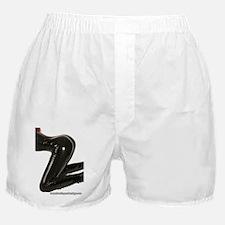 Girl Kneeling Boxer Shorts