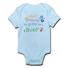 Kids Future Diver Infant Bodysuit