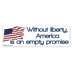 Without Liberty America is an Empty Promise