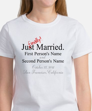 Finally Married Women's T-Shirt