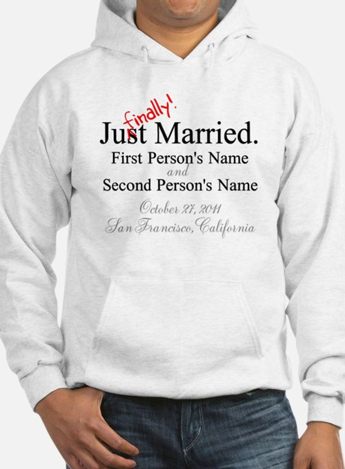 Finally Married Hoodie