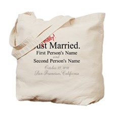 Finally Married Tote Bag
