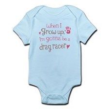 Kids Future Drag Racer Infant Bodysuit
