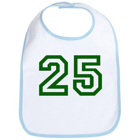 Number 25 Bib