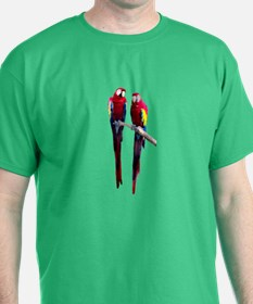 Scarlet (RED) Macaws T-Shirt