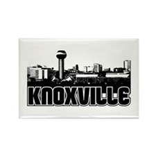 Knoxville Skyline Rectangle Magnet