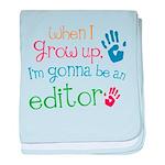 Kids Future Editor baby blanket