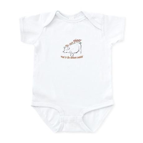 Little Piggy Farm Market Infant Bodysuit