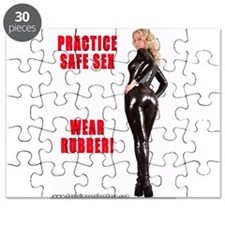 Practice Safe Sex Wear Rubber Puzzle